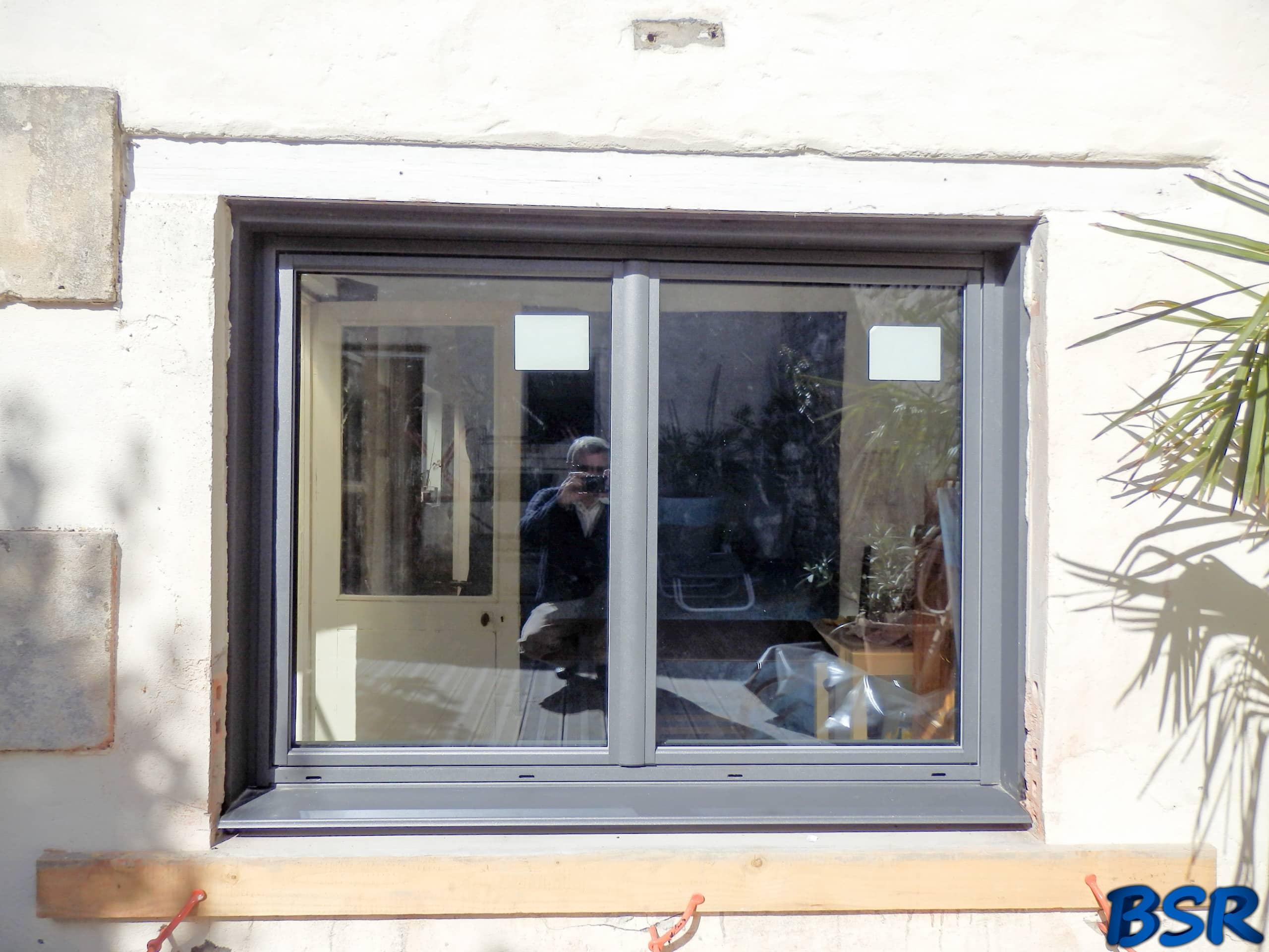 Porte et fenêtre Aluminium BSR 005