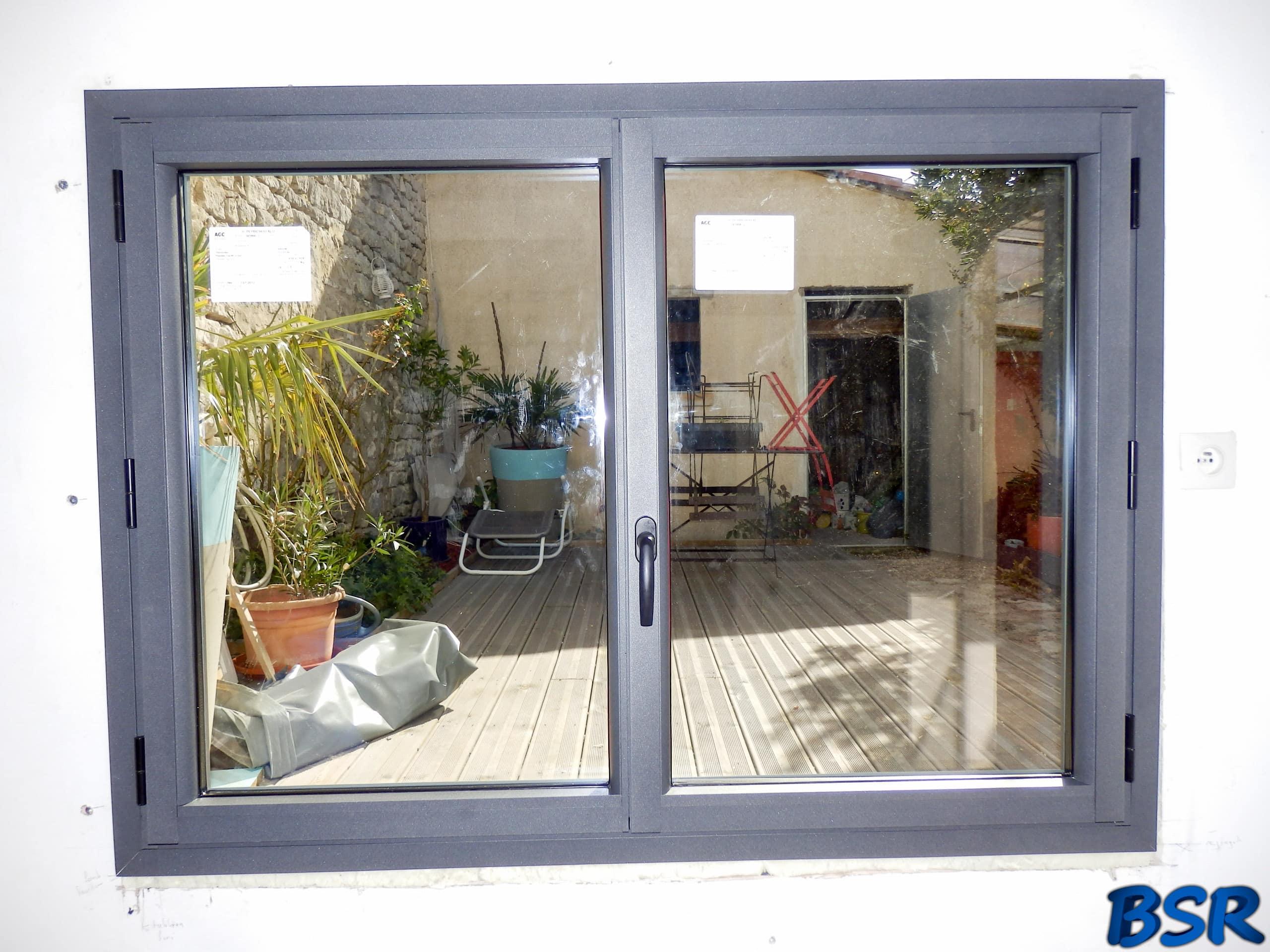 Porte et fenêtre Aluminium BSR 006
