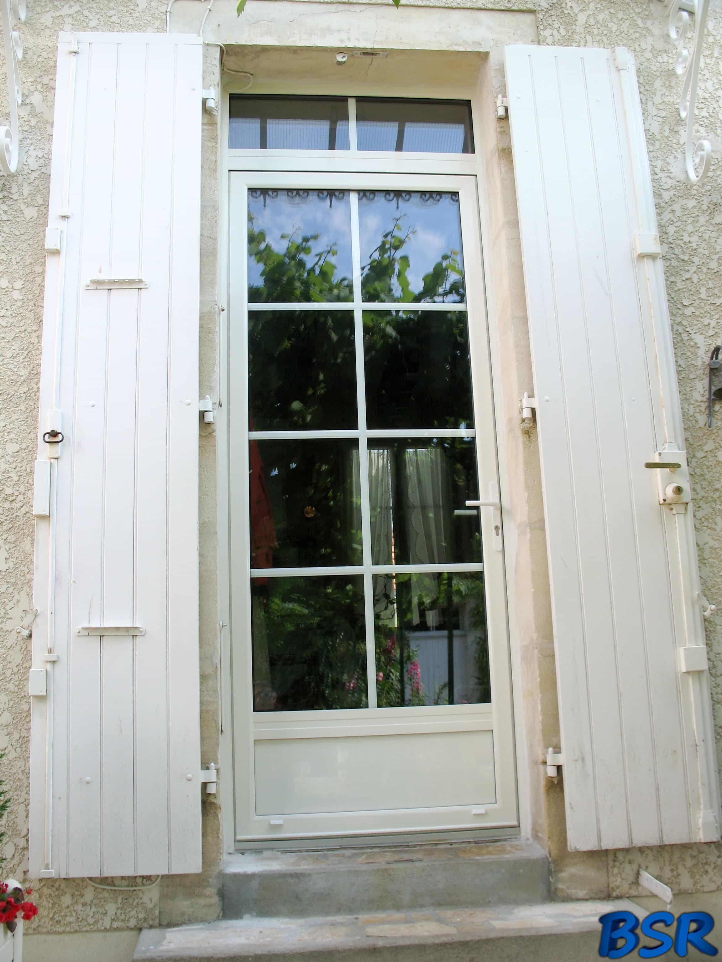 Porte et fenêtre Aluminium BSR 008