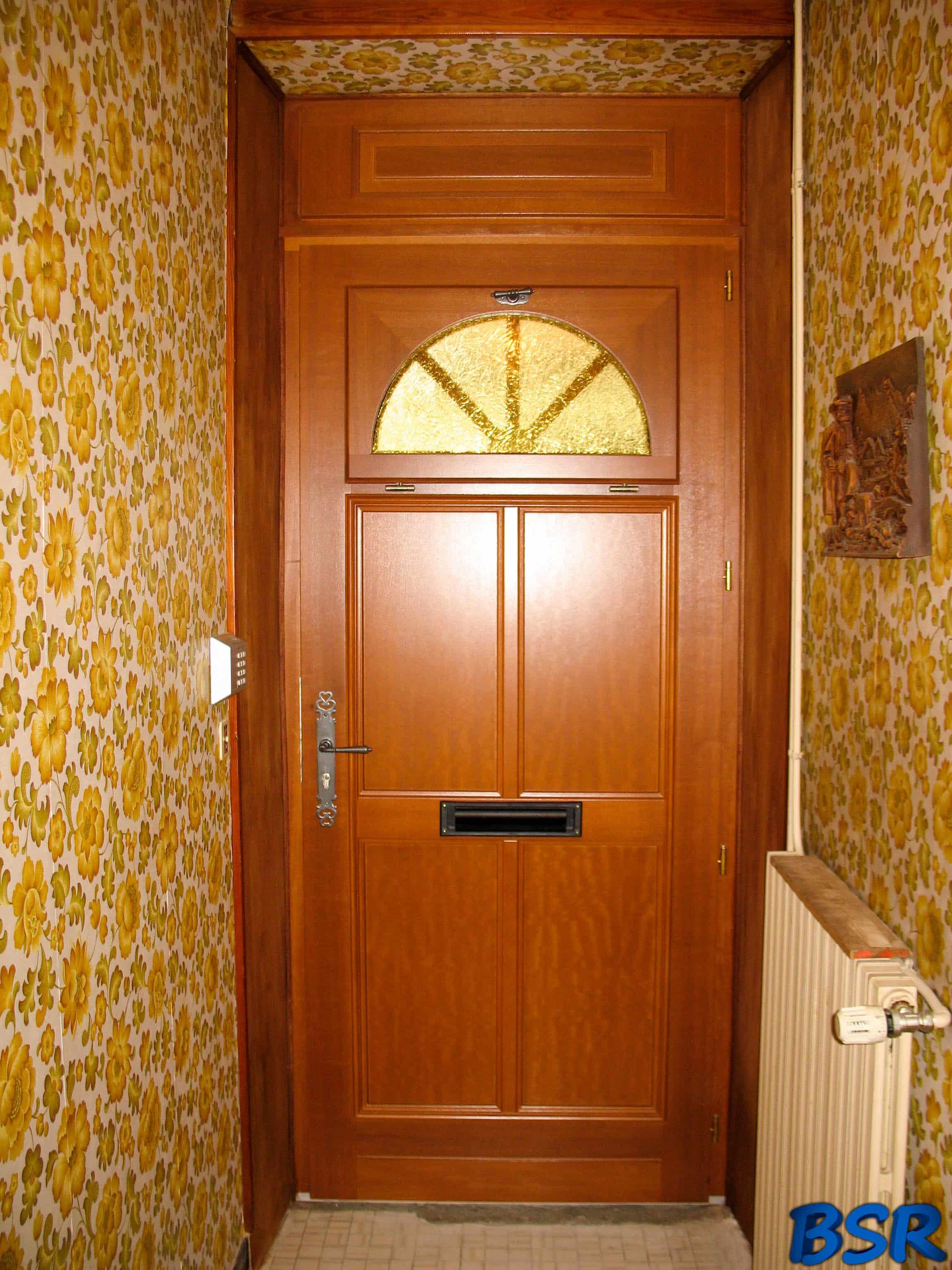 Porte et fenêtre Bois BSR 007